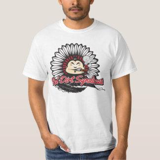 Sociedade vermelha da sujeira camiseta