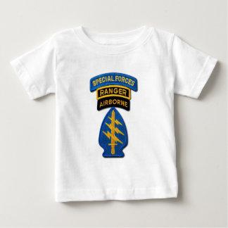 SOF SFG SOC das boinas verdes SF do grupo das Camiseta Para Bebê