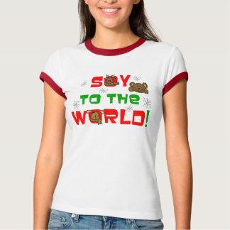 Soja ao mundo tshirt