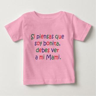 Soja Bonita… MI Mami - t-shirt do bebê - Ropa de