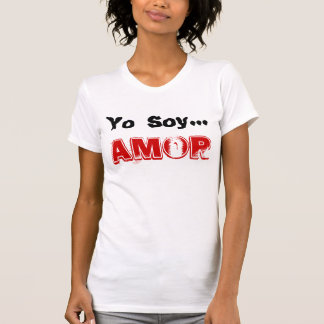 SOJA DE PLAYERA FEMENIL YO… AMOR TSHIRTS