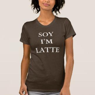 """Soja eu sou t-shirt de Latte"""