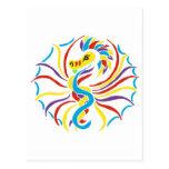sol 2k10-dragon cartão postal