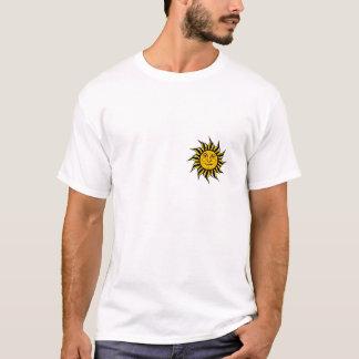 Sol da reggae camiseta