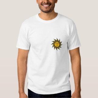 Sol da reggae camisetas