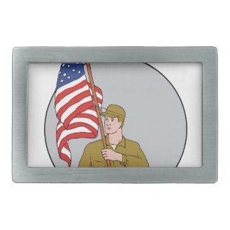 Soldado americano que guardara o desenho do