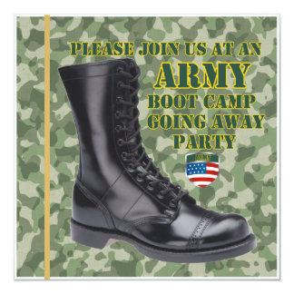 Soldado Boot Camp que vai afastado convite de