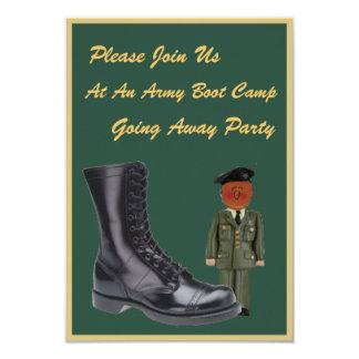 Soldado Boot Camp que vai afastado convites