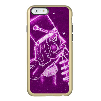 Soldado de brinquedo do Nutcracker na magenta Capa Incipio Feather® Shine Para iPhone 6