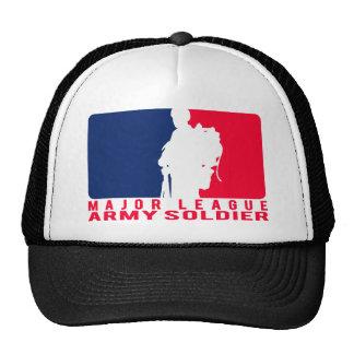 Soldado do exército da liga principal boné