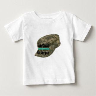 Soldado do exército t-shirts