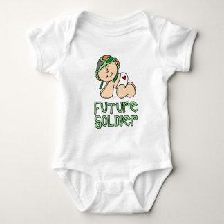 Soldado do futuro dos meninos t-shirt