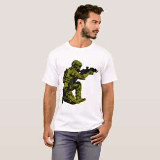 Soldado polonês da liberdade camiseta