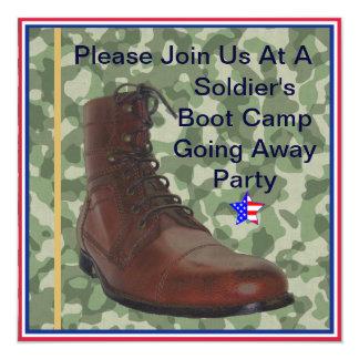 Soldados Boot Camp que vai afastado convite de
