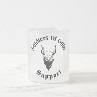 Soldados do apoio da caneca de Odin |