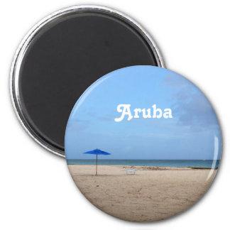 Solidão de Aruba Ímã Redondo 5.08cm