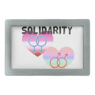 Solidariedade alegre lésbica