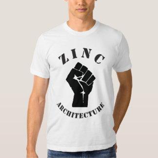 sólido do zinco t-shirt