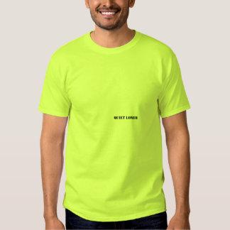 Solitário quieto ((pia batismal pequena) t-shirts