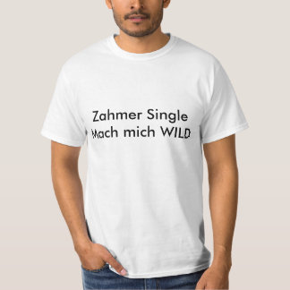 Solteiro domesticado… divertido Namoricas Shirt Tshirts