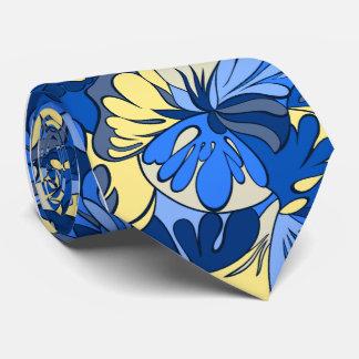 Solteiro-side retro floral da lâmpada da lava gravata