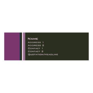 Solteiros •  No. 0009 Modelo Cartões De Visitas