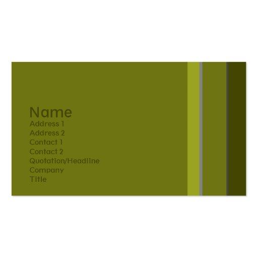 Solteiros •  No. 0010 Cartões De Visita
