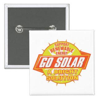 Solução da energia solar bóton quadrado 5.08cm