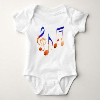 Som da música - símbolos da dança body para bebê