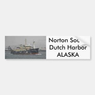 Som de Norton palangreiro no porto holandês AK Adesivo