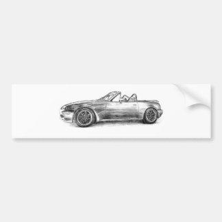 Sombra de prata MX5 Adesivo Para Carro