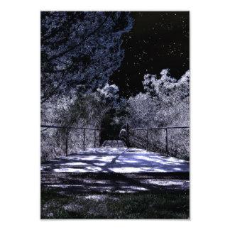 Sombras da lua impressão de foto