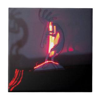 Sombras e fogo de Kokopelli