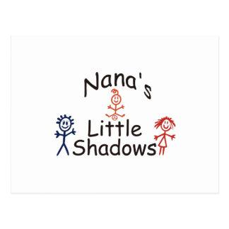 Sombras pequenas de Nanas Cartão Postal