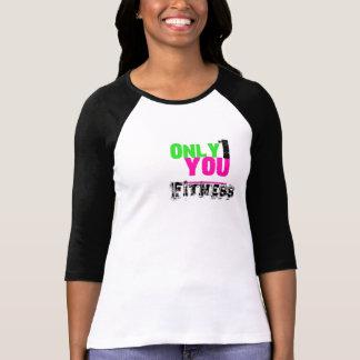 Somente 1 você capas da camisa 3/4 da malhação t-shirt