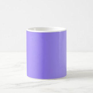 SOMENTE inclinações da COR - violeta Caneca De Café