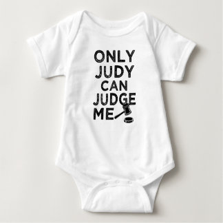 Somente Judy pode julgar-me camisa engraçada do