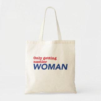 """""""Somente obtendo o bolsa da mulher mais"""