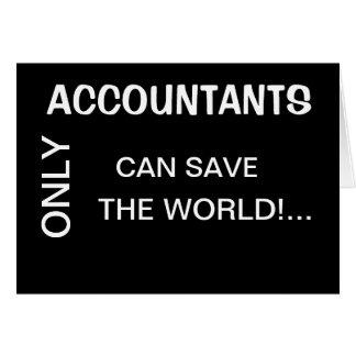 Somente os contadores enlatam o mundo de SaveThe - Cartoes