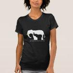 Somente os elefantes devem vestir o marfim tshirts