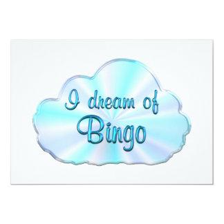 Sonhador do Bingo Convite 12.7 X 17.78cm