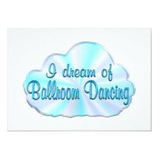 Sonhador do salão de baile convite personalizado
