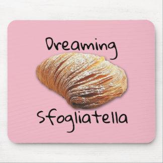 Sonhando o sfogliatella - Mousepad