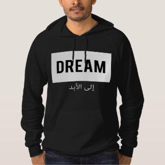 Sonhe para sempre (e nunca) o roteiro árabe moletom