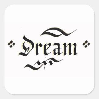 Sonho Adesivo Quadrado