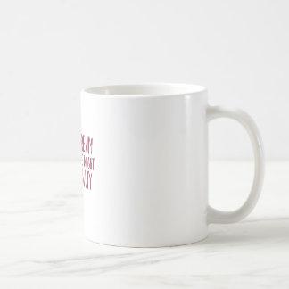 Sonho afastado caneca de café