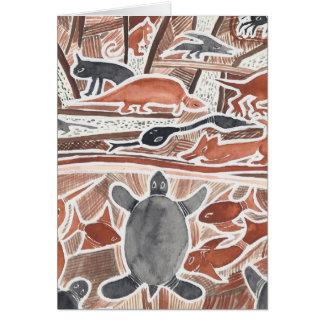 Sonho australiano #2 - 01 cartão comemorativo