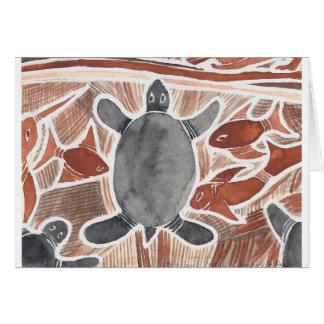 Sonho australiano #2 - 03 cartão comemorativo