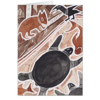 Sonho australiano #3 - 01 cartão comemorativo