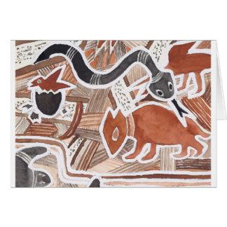 Sonho australiano #5 - 02 cartão comemorativo